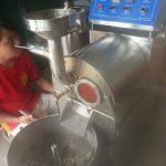 Máy rang cà phê sử dụng nhiệt hồng ngoại